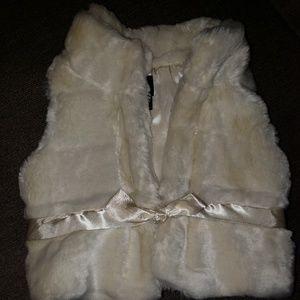 Baby Gap Faux Fur Vest!